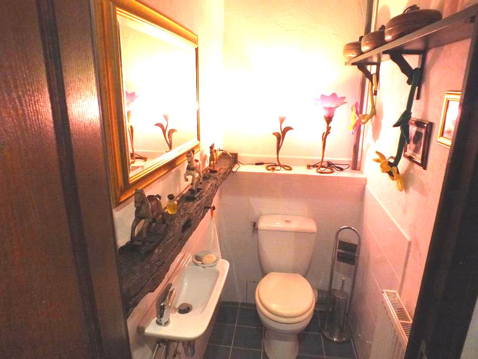 toilette indépendante